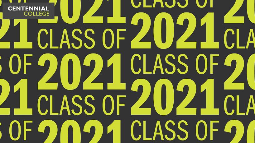 wallpaper pattern that reads class of 2020