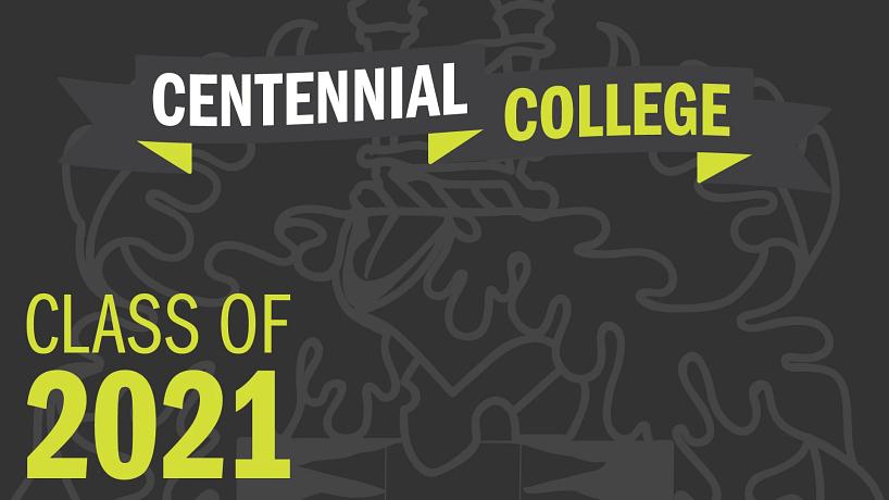 banner that reads centennial college