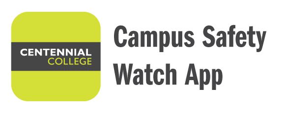 centennial college campus safety watch app icon