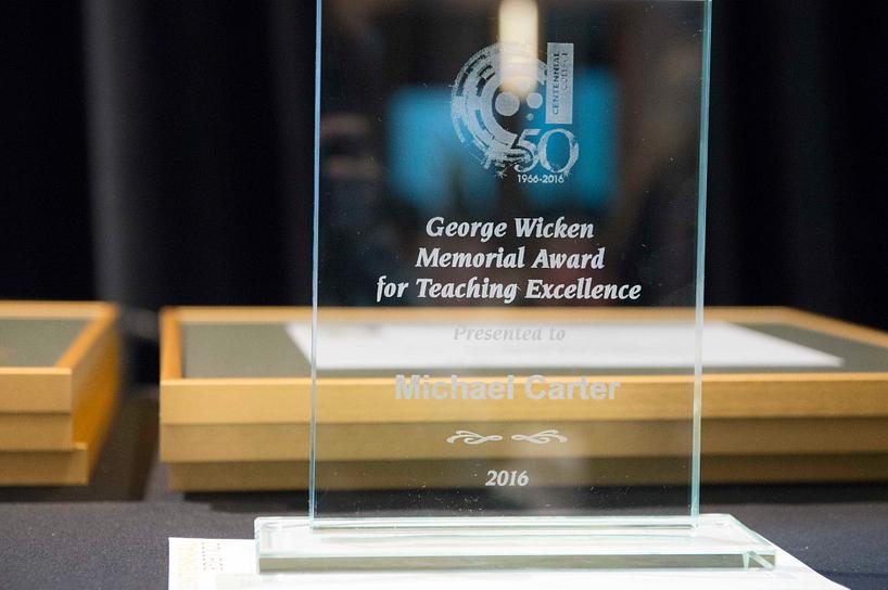 george wicken memorial award for teaching excellence award
