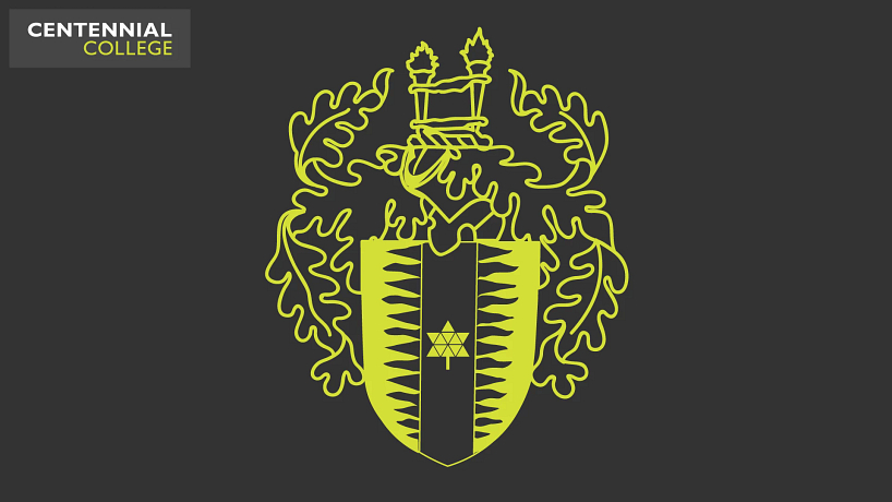 picture of the centennial college crest