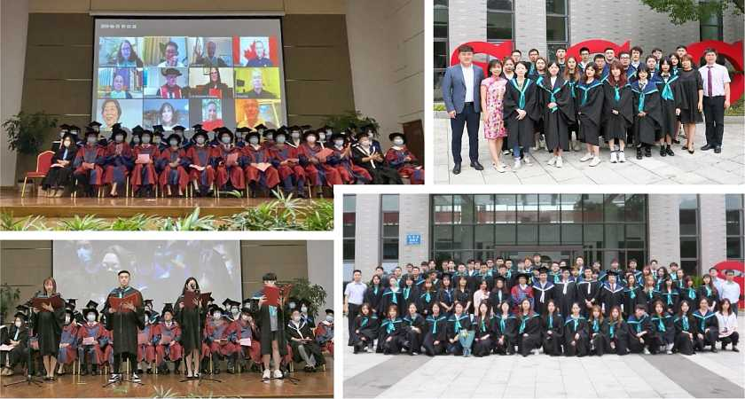 Suzhou Centennial College Hosts its Inaugural Graduation Ceremony