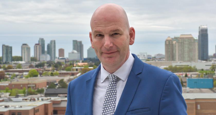 Portrait of Dr Craig Stephenson