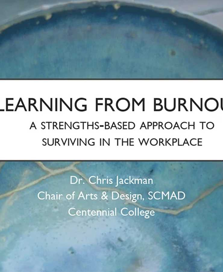 Dr. Chris Jackman Presents: Learning from Burn Out image